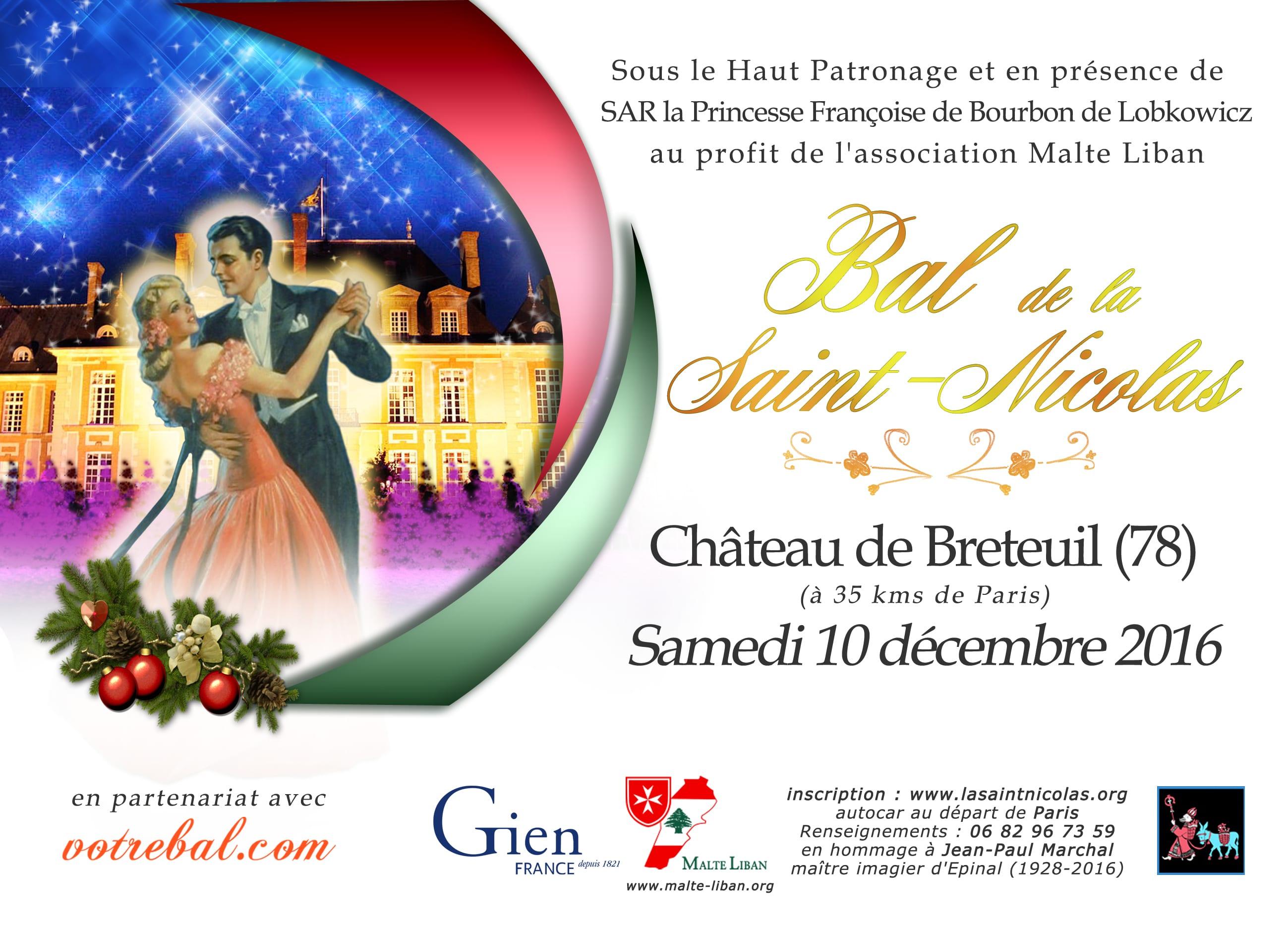 brochure du bal de la saint nicolas
