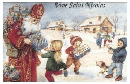 Saint Nicolas est le protecteur des enfants, des jeunes filles, des navigateurs et autres voyageurs.