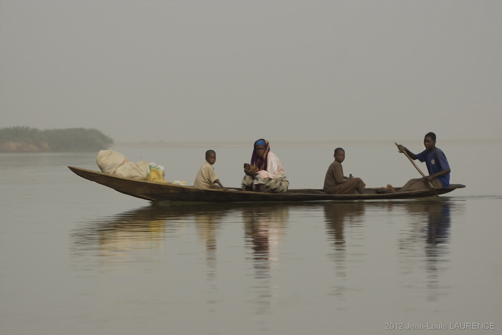 Traversée du Niger. Nord Bénin